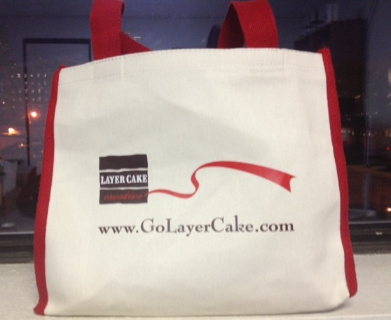Promotional Marketing Bag for Layer Cake Creative